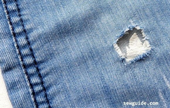 How To Fix Holes In Jeans 9 Ways Repair Ripped Torn