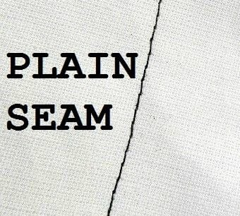 plain seam
