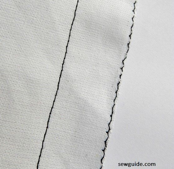 sewing plain seams