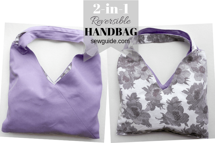 reversible handbag sewing tutorial