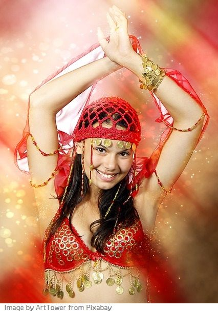 belly dancer costume ideas
