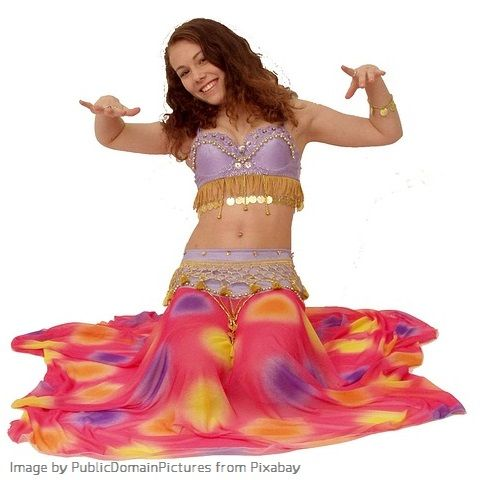 belly dancing costume ideas