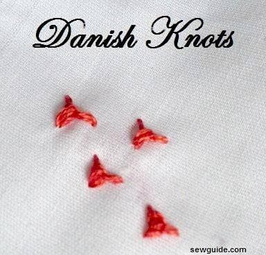 knot stitches