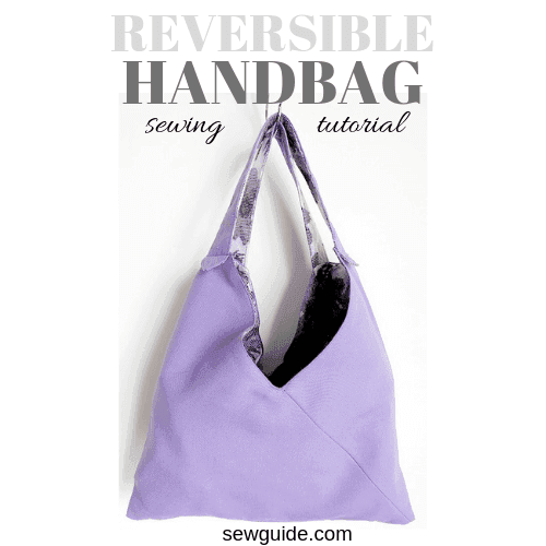 easy hand bag sewing tutorial