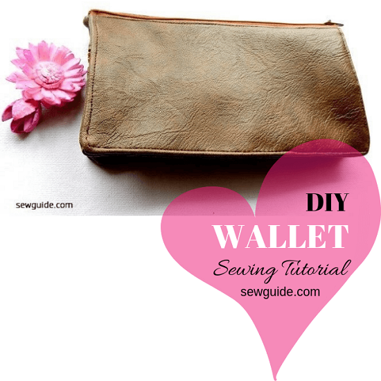 diy wallet sewing pattern