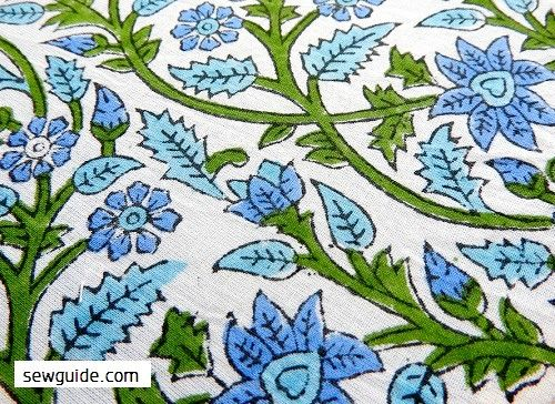 indian fabric printing