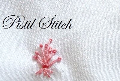 9 important Knot Stitches in Embroidery