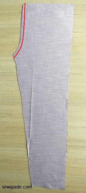 make super simple straight pants