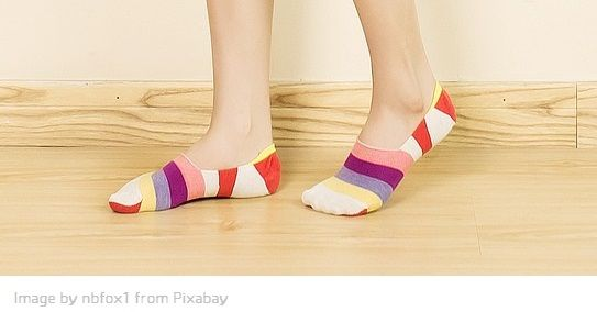 types of socks with pictures