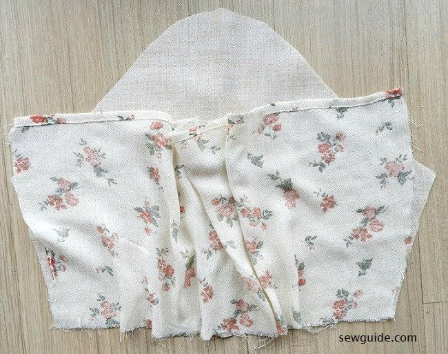 jeans top sewing