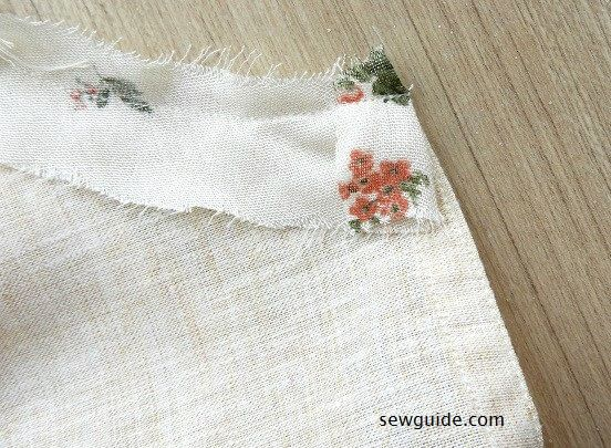 sewing tutorial for jeans top