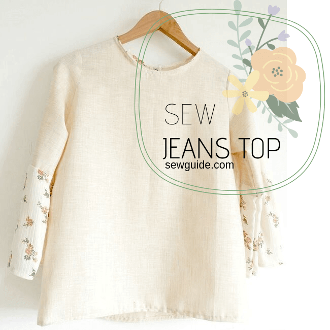 jeans top sewing pattern