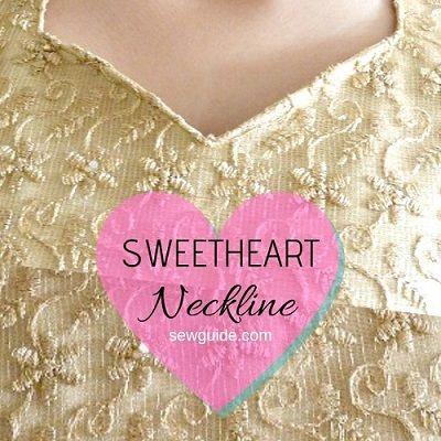sweetheart necklines