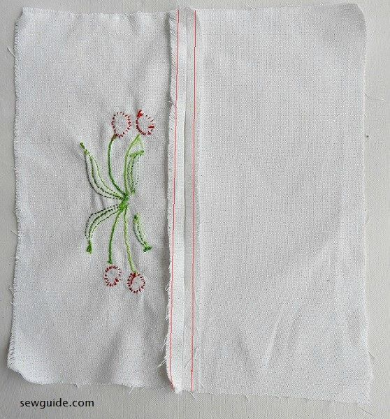 how to sew tissue box cover
