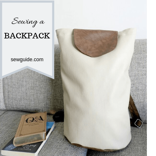 how to sew a backpack