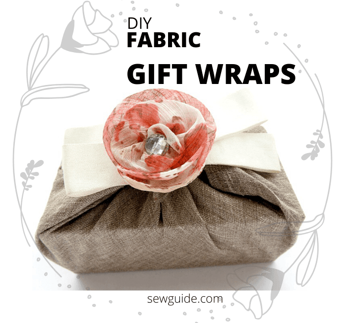 gift wraps made of fabric