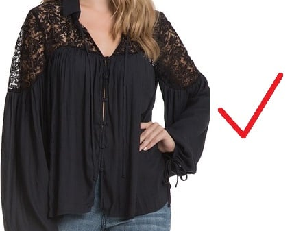 how to wear clothes that cover a protruding stomach