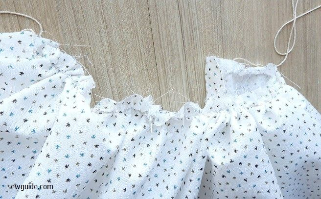 Sew a Simple Gathered Dress for girls : Free Sewing Pattern & Tutorial