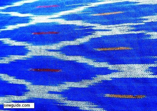 ikat fabric pattern