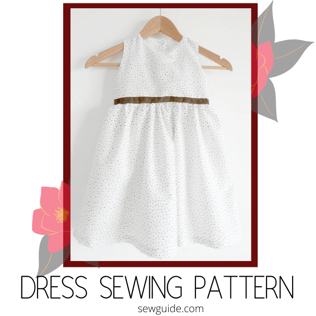 kids gathered dress sewing pattern