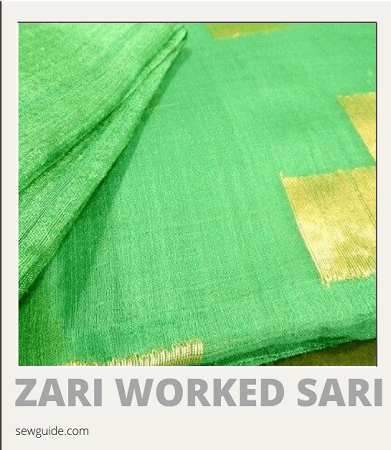 Sari Glossary - A list of Different Types of sarees
