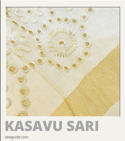 names of different types of saris