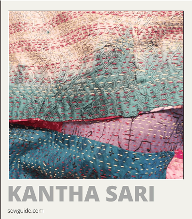 sari types and names