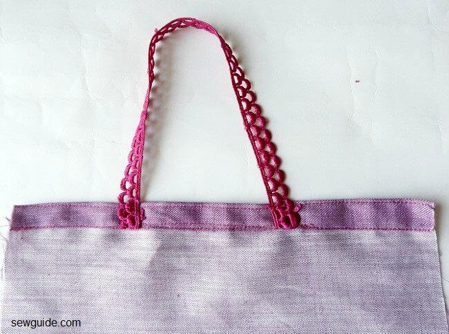 diy fabric gift bags