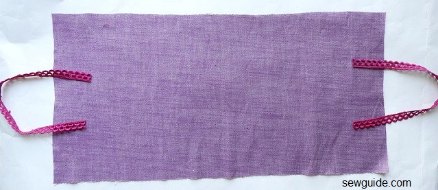 make fabric gift bags