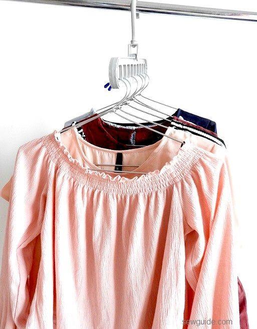 get more space inside wardrobes