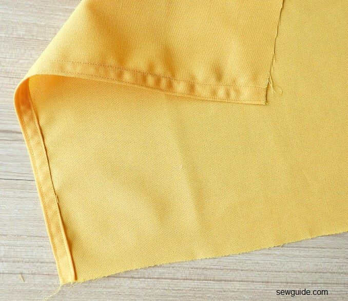 how to sew a wrap top