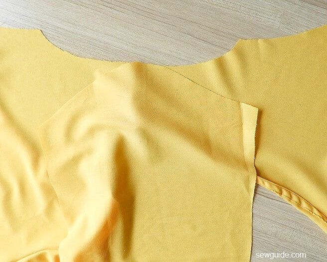 sewing pattern for wrap top