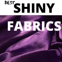 shiny fabric names