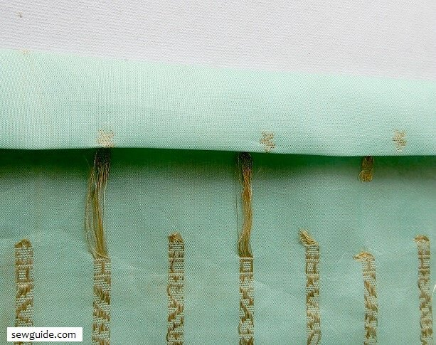 invisible hemming