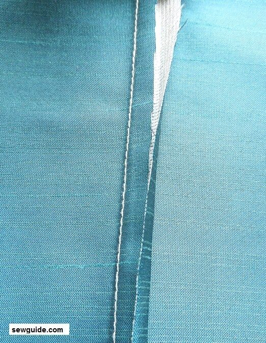 how to sew flat fell seam