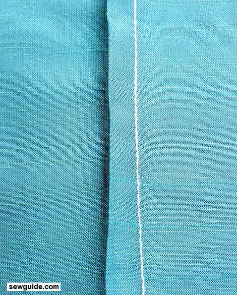 flat fell seam sewing