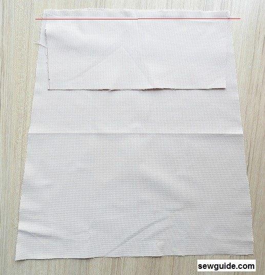 grocery tote bag sewing tutorial