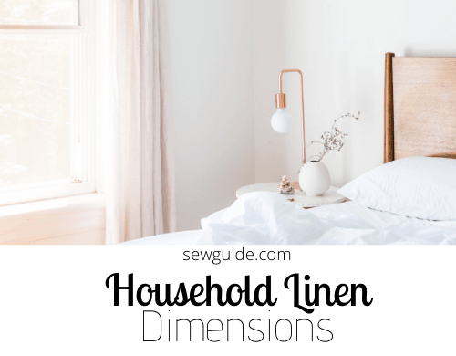 Household Linen - Ideal numbers and dimensions : A factsheet
