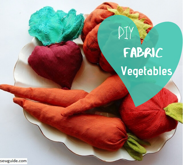 make fabric vegetables