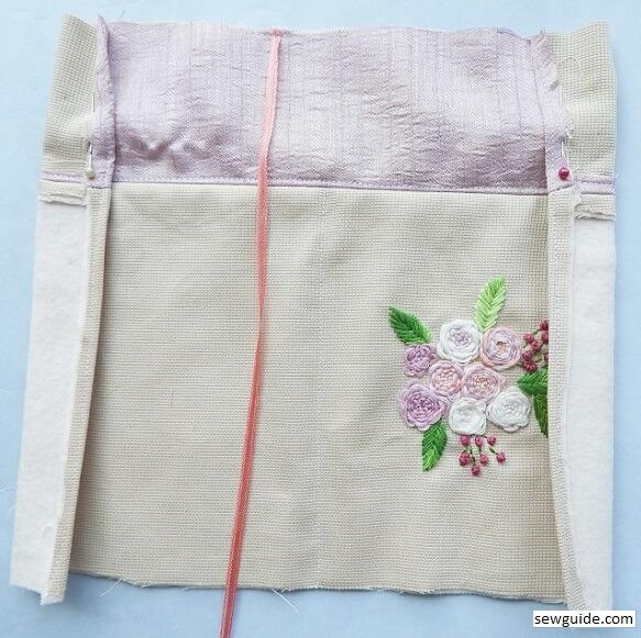 make cloth book cover