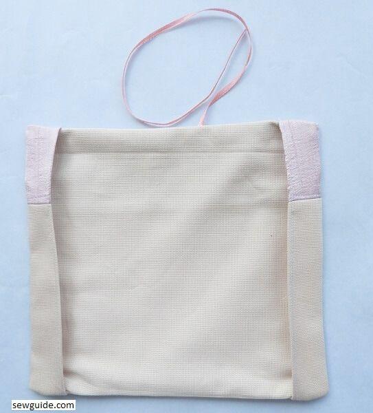 sew cloth book cover
