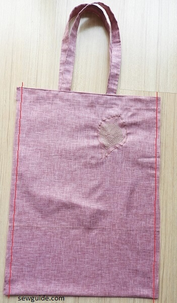 Tote bag : Here is the best way to make this every day bag