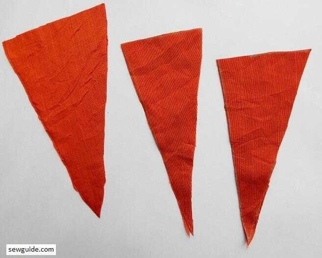 make fabric carrots