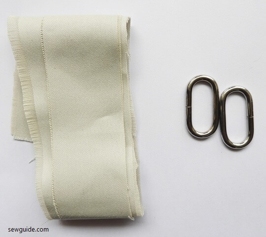 make fabric belt