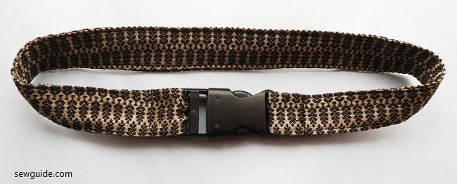DIY Fabric Belts : 5 Easy ways to make your own belt