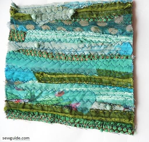 Use Fabric Scraps to make your own Fabric : 3 methods