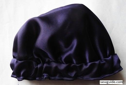 satin night head cover