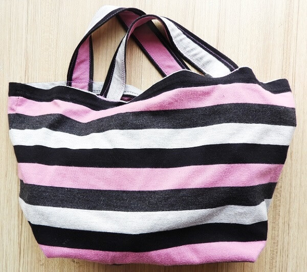 bag from old t shirt