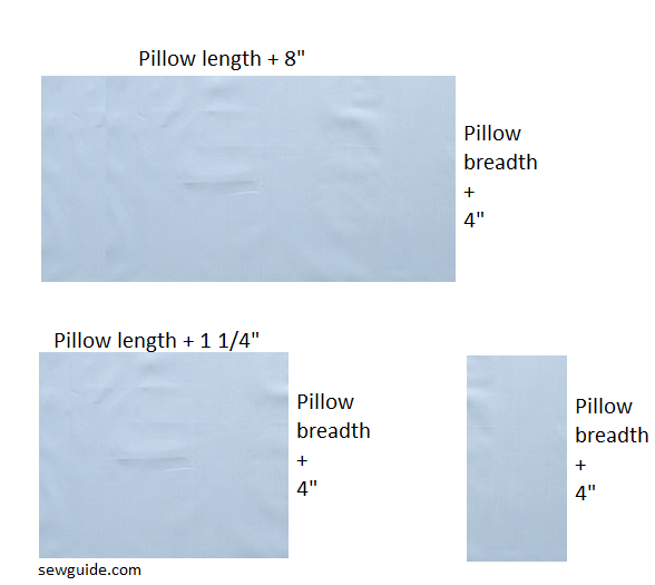 sew pillowcases