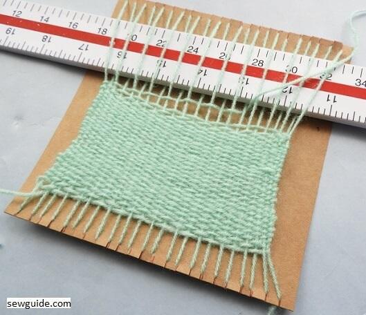 cardboard loom diy